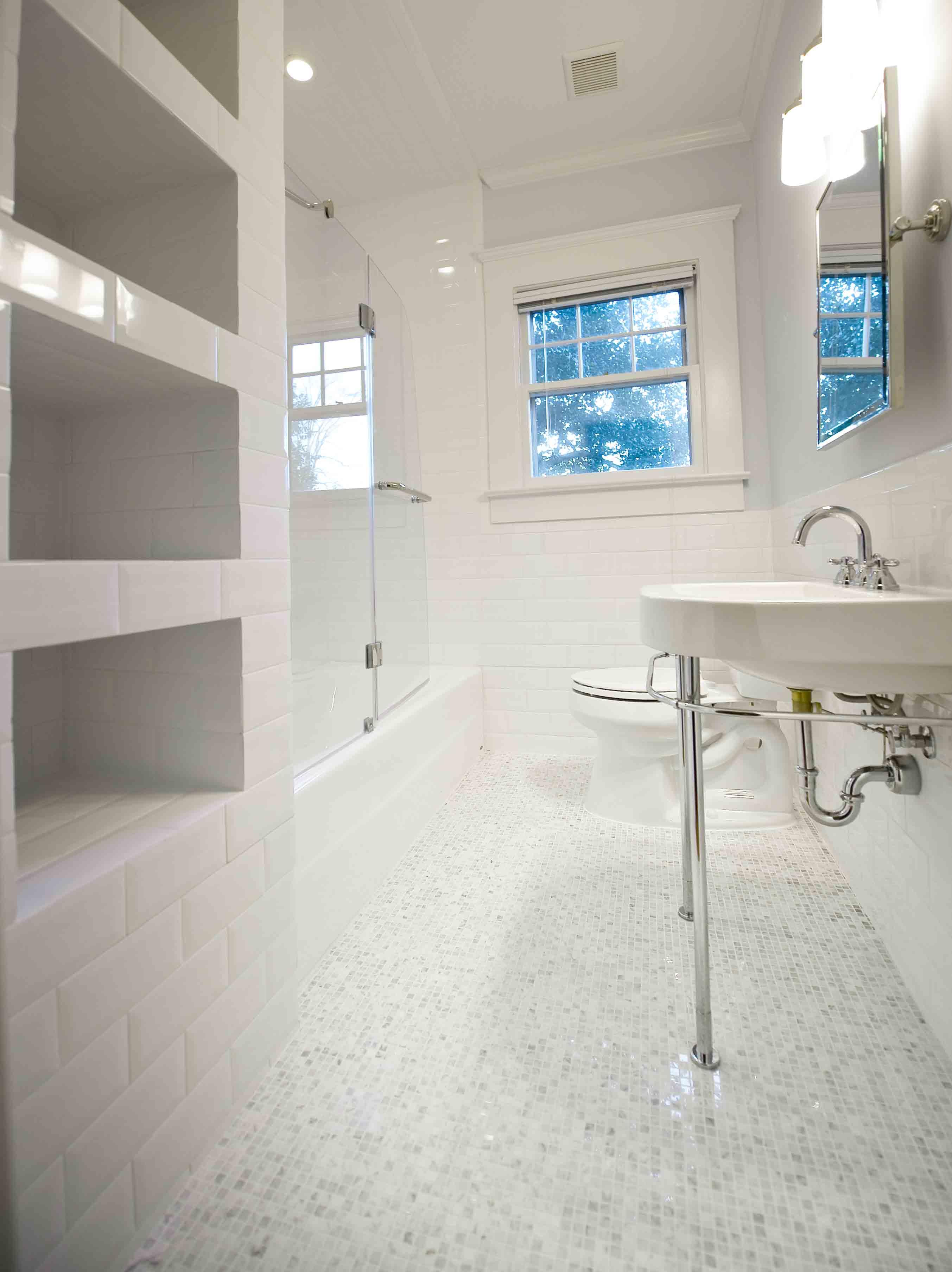 Heirloom Design Build Craftsman Bathroom Renovation ...